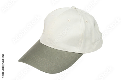 Light green two tone baseball caps