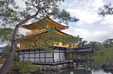 Golden Pavilion in Kyoto