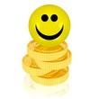 glücklicher Gewinner, fleißiger Sparer