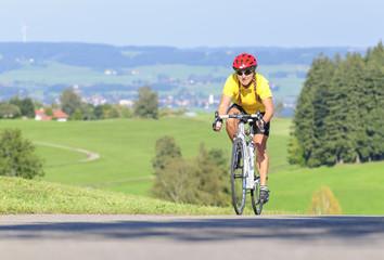 Radsportlerin