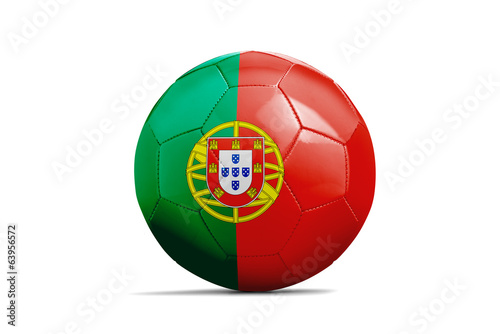Soccer balls with teams flags, Brazil 2014. Group G, Portugal