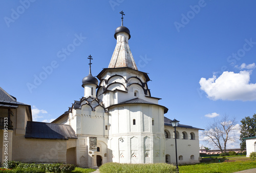 Dormition refectory Church. Spaso-Efimiev monastery. Suzdal