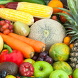 Mixed Fruits and vegetables for healthy