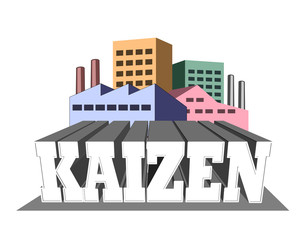 """Kaizen means """"continuous improvement"""""""