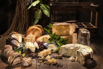 Italienische Käsespezialitäten