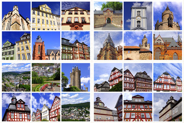 Hessische Städte: WETZLAR+FRIEDBERG+DILLENBURG+HERBORN