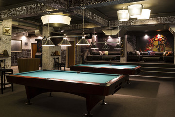 Billiard interior