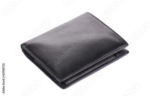 Leather wallet.