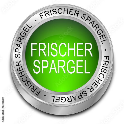 frischer Spargel Button