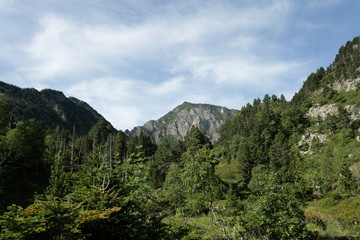 Pic du roc blanc,Pyrénées ariégeoises