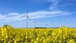 canvas print picture - Energiewende durch erneuerbare Energien