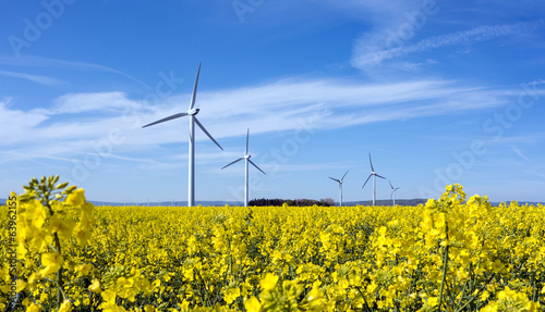 canvas print picture Energiewende durch erneuerbare Energien