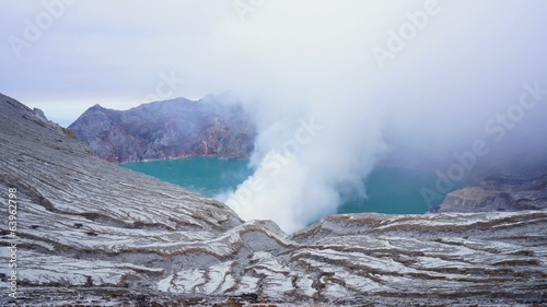 Time-lapse of Ijen Crater Indonesia