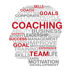 Coaching Business Management Concept