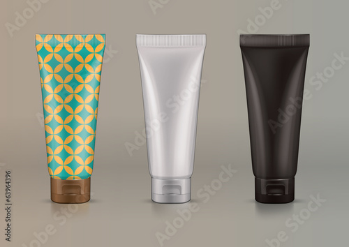 Plastic tube for new design cosmetics creme
