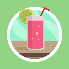 Fresh Juice Illustration