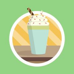 Tasty Smoothies Drink Illustration