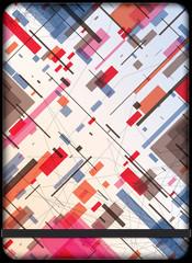 Avantgarde cover. Abstract art