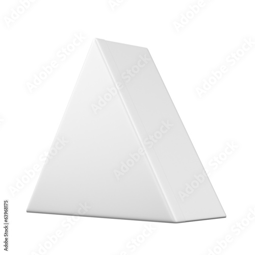 Package triangular shape Box