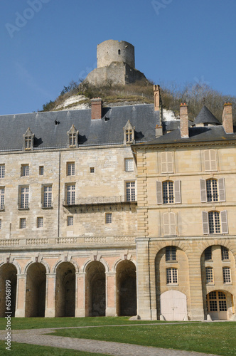 France, castle of La Roche Guyon