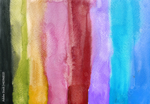 Paint Beautiful of Water color background