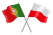 Flags: Portugal and Poland