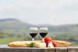 Wein, Käse und Brot - 63969933