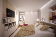 Interior Bedroom in modern style