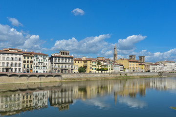 Florenz Toskana Italien - Panorama Ponte Vecchio