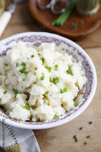 Potato and celery mash
