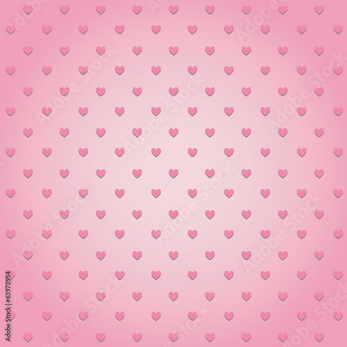 Hearts pattern background2