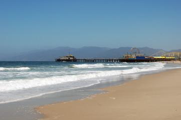 Picturesque view of Santa Monica