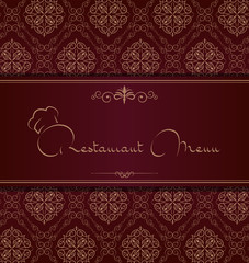 Royal restaurant menu cover