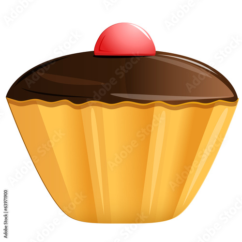 cake, vector illustration