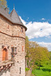 Friedberger Stadtmauer mit Turm und Hirschgraben