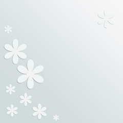 Blumen aus Papier - Vektor