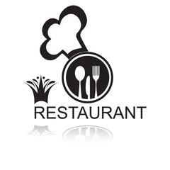 логотип ресторана повар