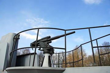 Naval artillery