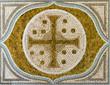 cross mosaic tile - 63974566