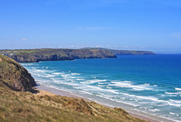 Perranporth beach, Cornwall