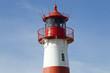 canvas print picture - Leuchtturm Ostfeuer bei List auf Sylt, Deutschland