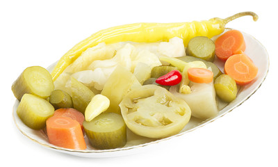 Plate of Pickles