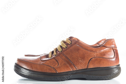 canvas print picture Brown Shoe
