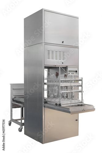 Equipment of a chemical laboratory