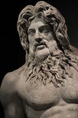 Statue of Neptune at Campidoglio, Rome, Italy