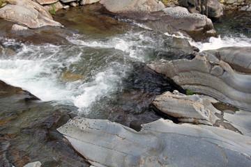 Pozas del río Malvedillo, Gasco, Hurdes, España