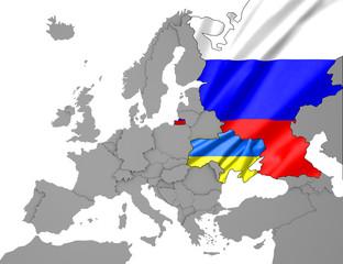 Ukraine- Russland Karte2