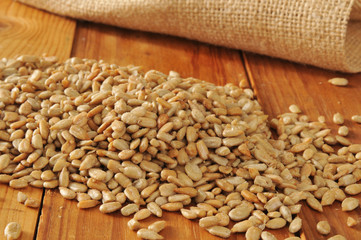 Roasted organic sunflower seeds