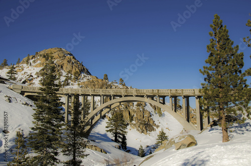 Donner Pass Road bridge 1