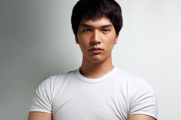 Portrait of Asian Male Model